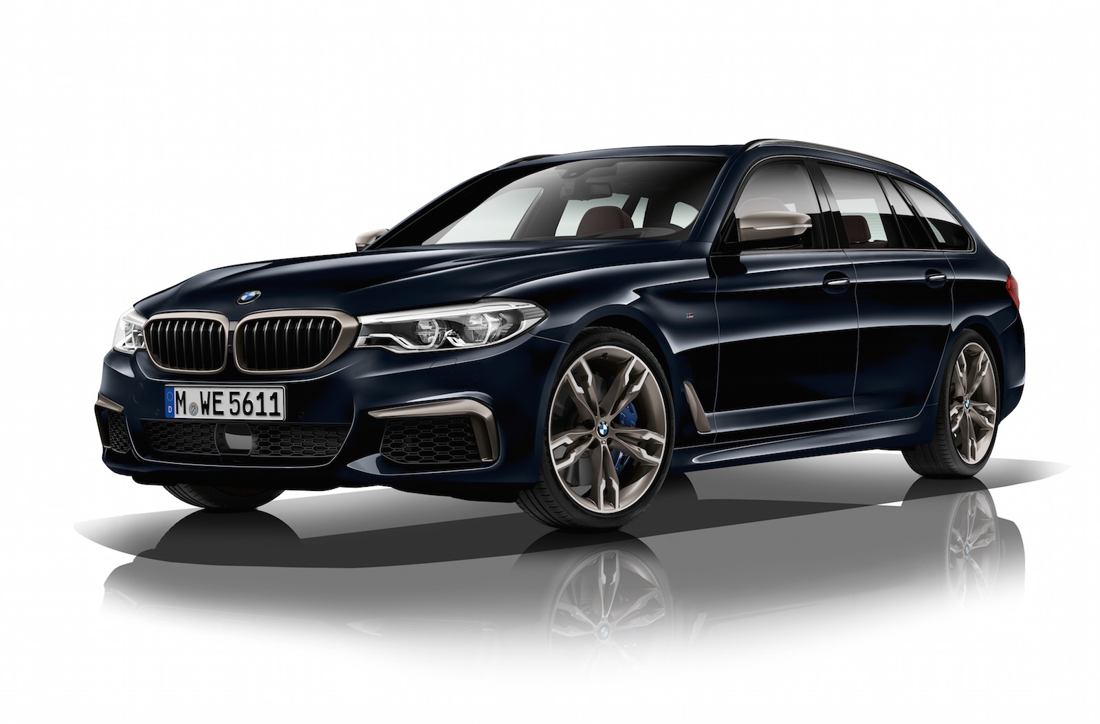 2017 bmw m550d revealed quad turbo most powerful 6cyl diesel performancedrive. Black Bedroom Furniture Sets. Home Design Ideas
