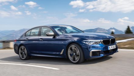 2017 BMW M550i revealed; quicker, more efficient than M5