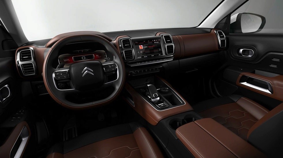 2017 Citroen C5 Aircross-interior