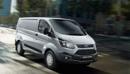 Ford adds automatic for 2017 Transit, more efficient engine