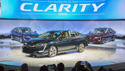 Honda debuts Clarity PHEV & EV variants at NY show