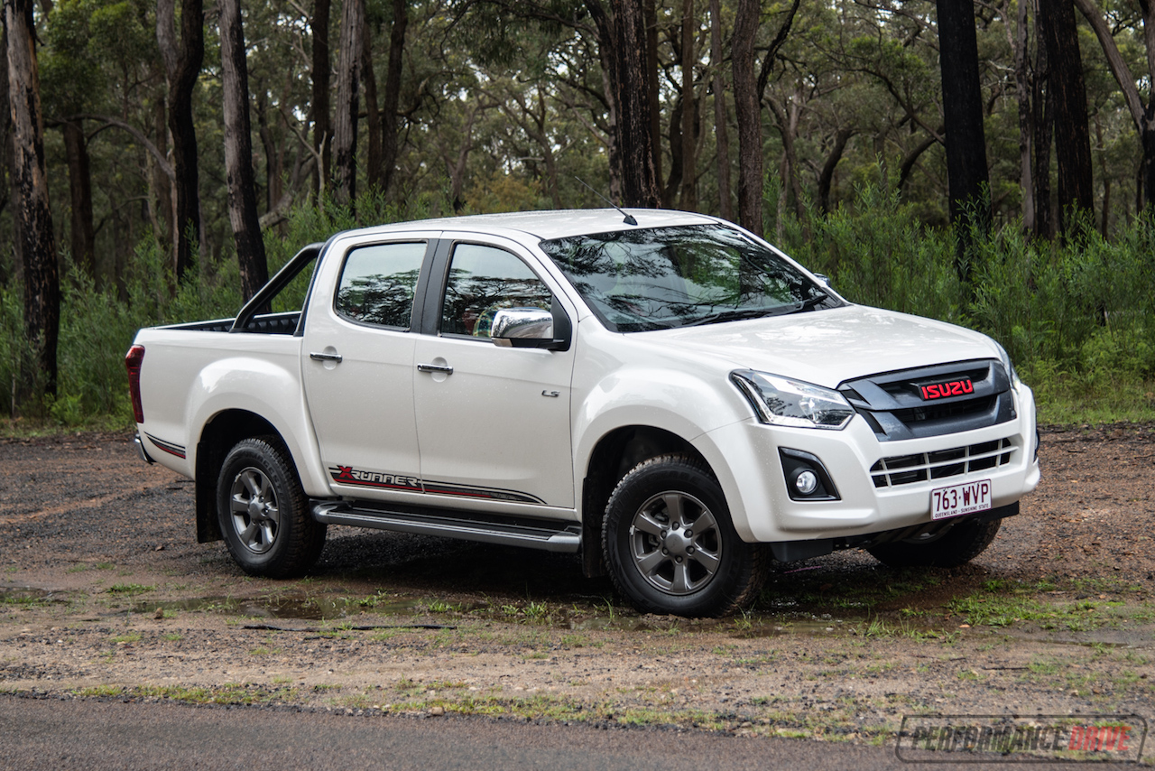 2017 Isuzu D-Max X-Runner Review (video)