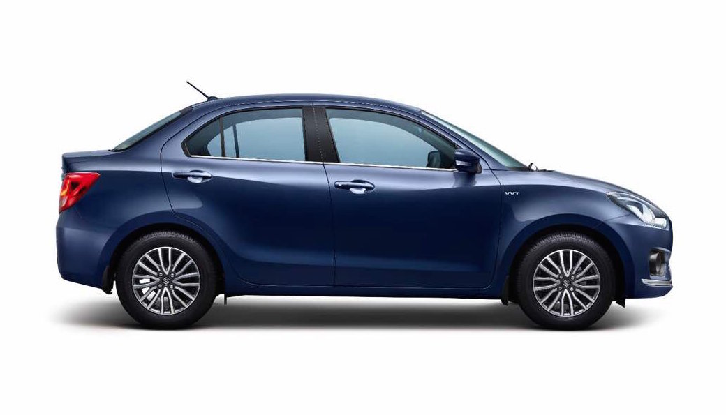 2017 Maruti Swift DZire revealed as Indian luxury spec ...