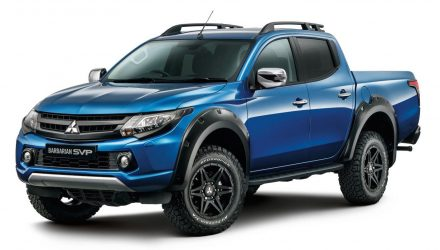 Mitsubishi launches SVP division with L200/Triton 'Barbarian'