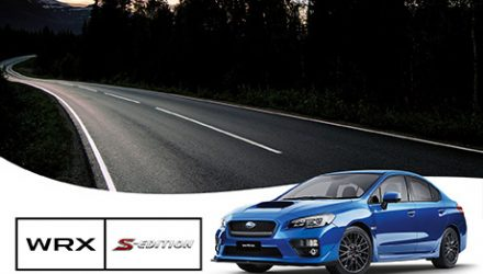 2017 Subaru WRX S-Edition now on sale in Australia