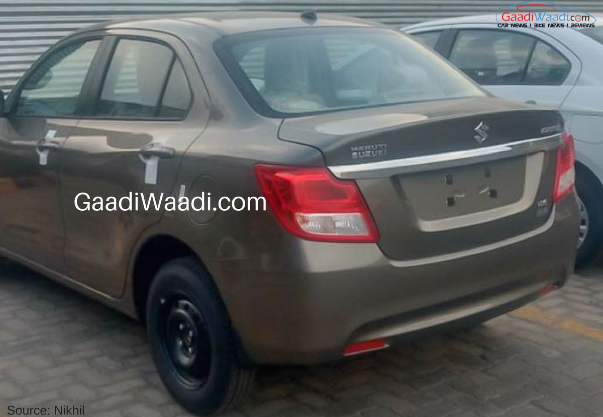 2017 Suzuki Maruti Swift Dzire spotted, compact sedan for ...