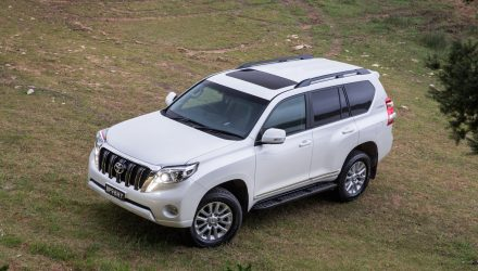 2017 Toyota Prado Altitude special edition on sale in Australia