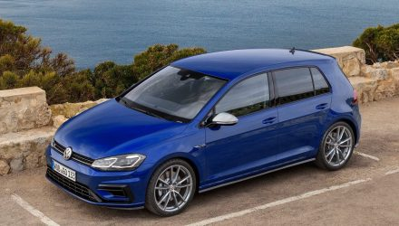 2017 Volkswagen Golf R Mk7.5 on sale in Australia in August