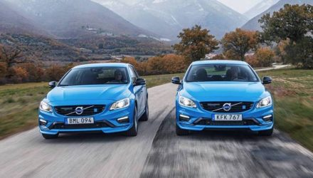 2017 Volvo S60 & V60 Polestar announced for Australia, 270kW 4CYL