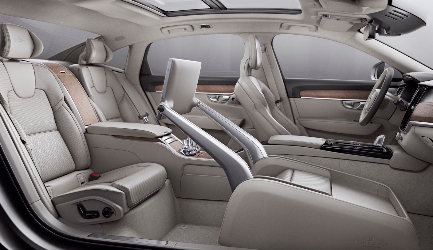 Video 2017 Volvo S90 Excellence Interior Is Perfect For