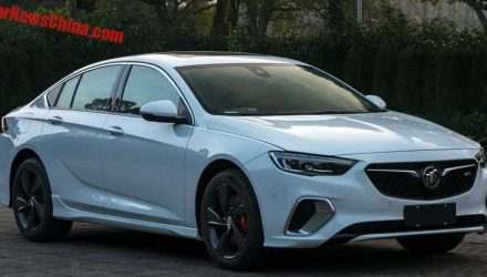 Buick Regal GS leaked; potential 2018 Commodore/HSV?