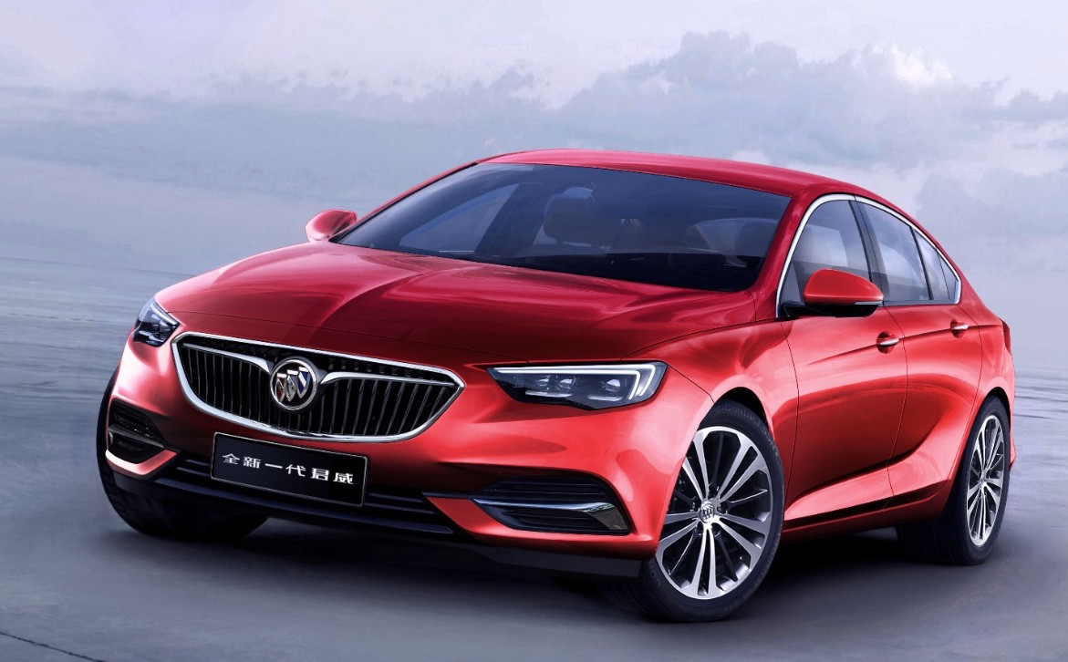 2018 buick regal revealed only sedan in gm insignia. Black Bedroom Furniture Sets. Home Design Ideas