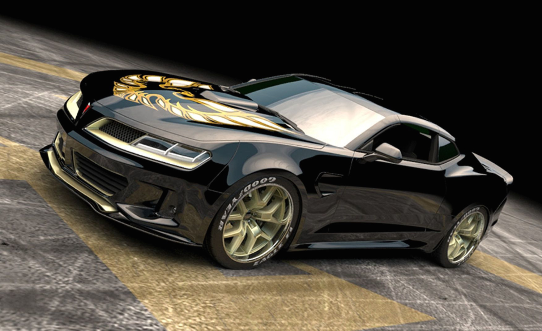 new camaro based trans am kit debuts at ny show performancedrive. Black Bedroom Furniture Sets. Home Design Ideas