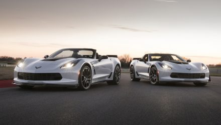 2018 Chevrolet Corvette Carbon 65 Edition coincides with MY2018