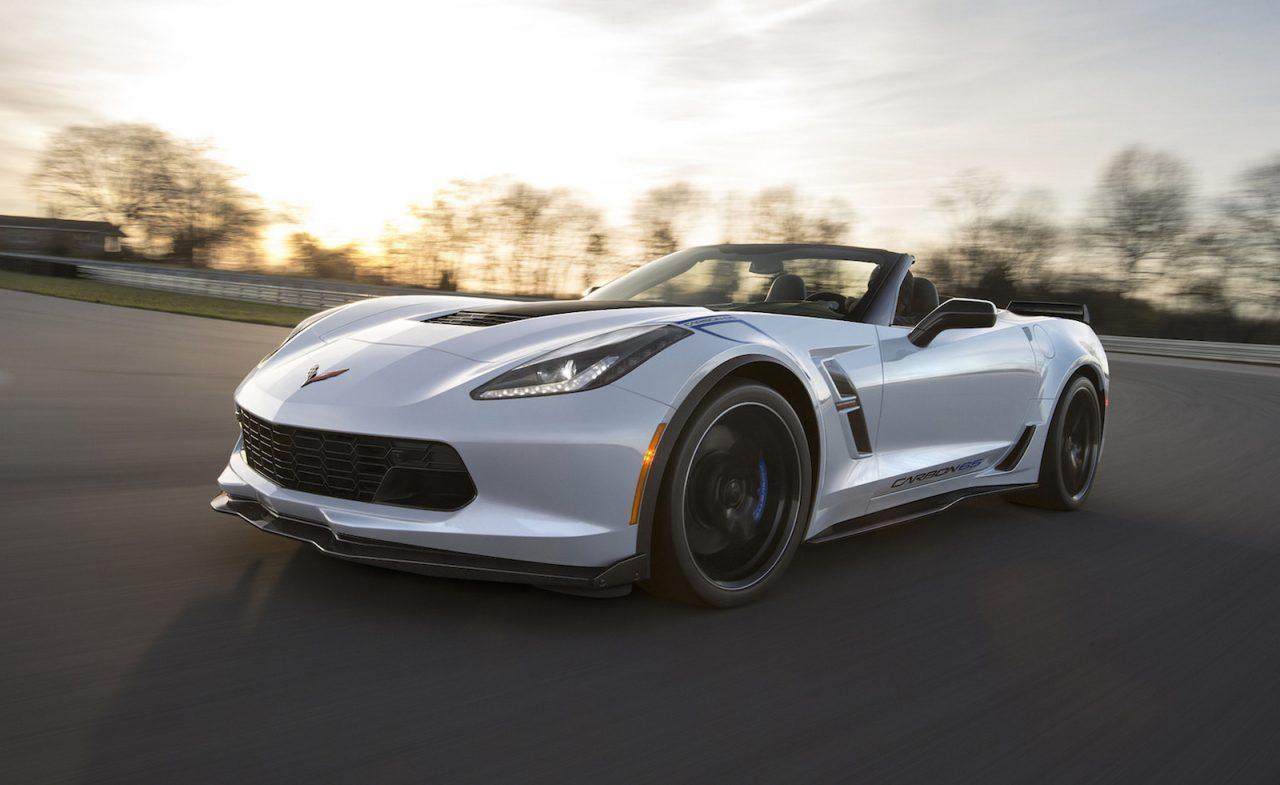 2018 Chevrolet Corvette Carbon 65 Edition Coincides With