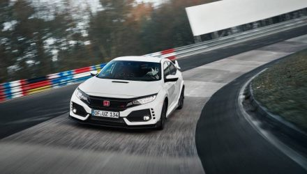 2018 Honda Civic Type R sets Nurburgring lap record (video)