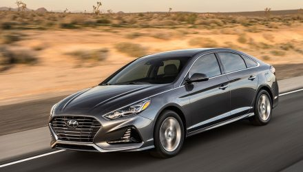 2018 Hyundai Sonata unveiled at New York auto show