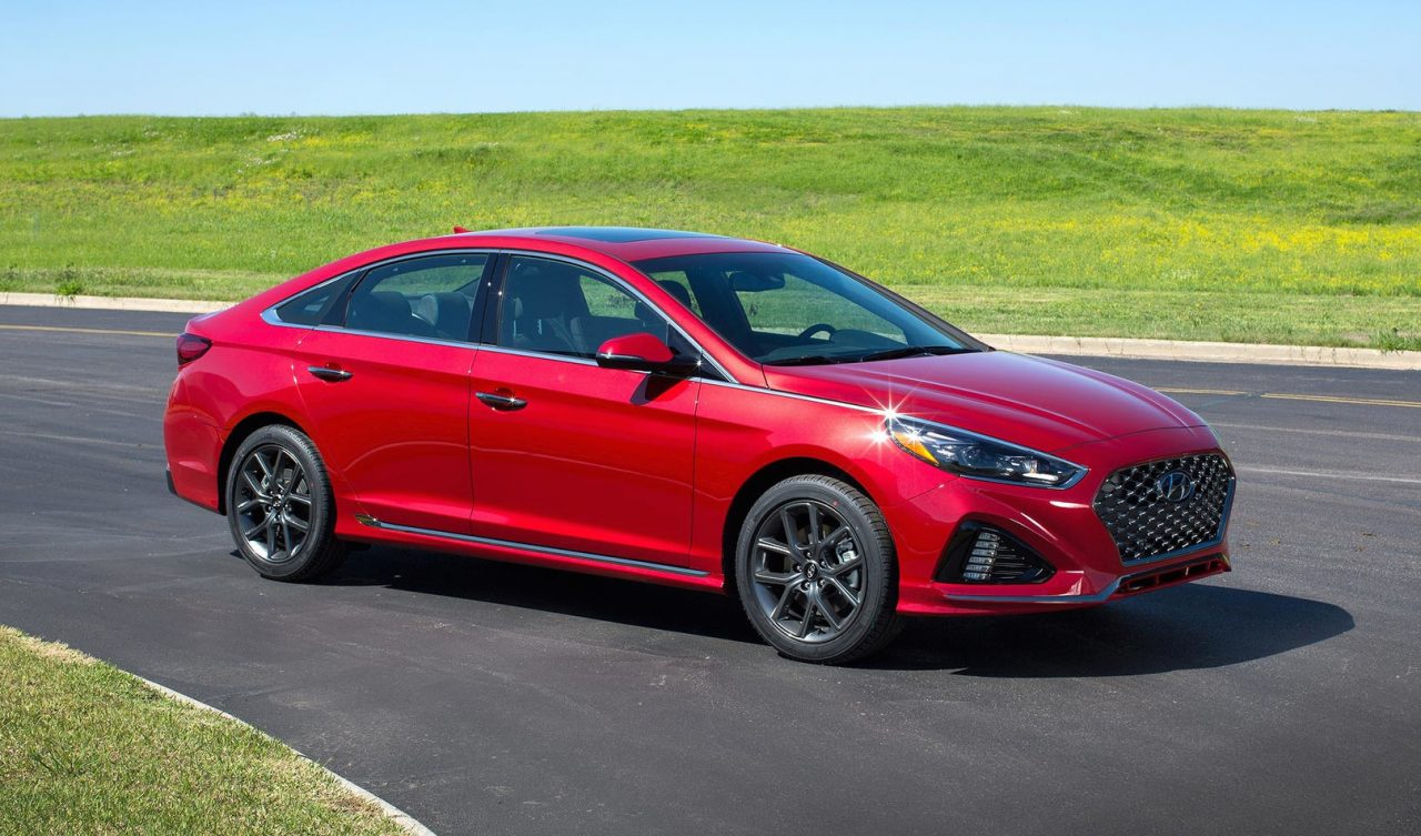 2018 hyundai sonata unveiled at new york auto show performancedrive. Black Bedroom Furniture Sets. Home Design Ideas