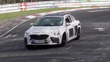 2018 Opel Insignia OPC spotted, next-gen HSV? (Video)