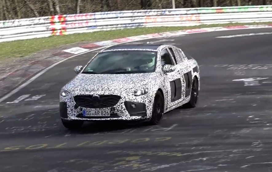 2018 opel insignia opc spotted next gen hsv video performancedrive. Black Bedroom Furniture Sets. Home Design Ideas