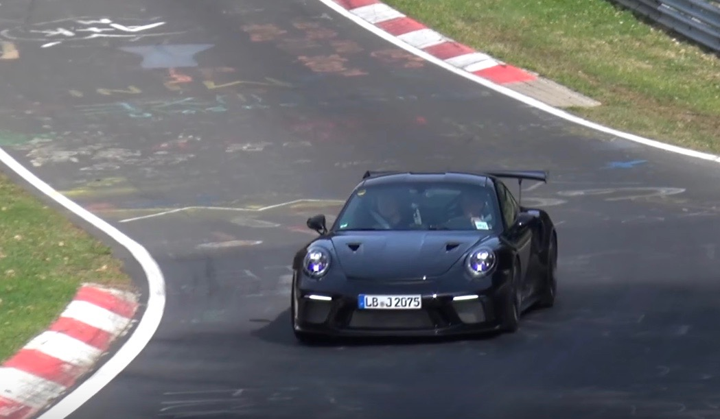 2018 porsche rsr. fine 2018 2018 porsche 911 gt3 rs spotted to be pdk only video with porsche rsr