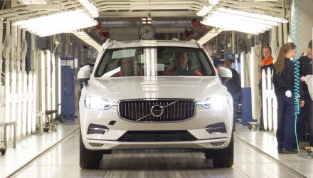 2018 Volvo XC60 production commences in Sweden
