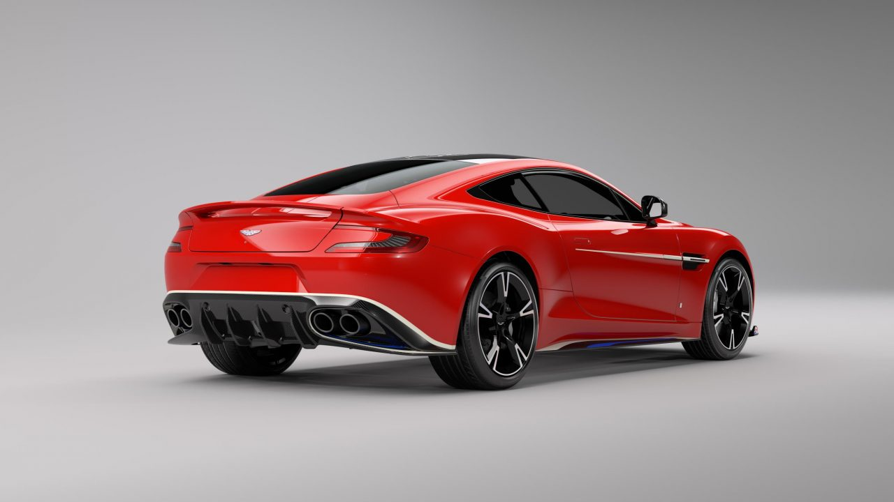 aston martin vanquish s red arrows special edition announced performancedrive. Black Bedroom Furniture Sets. Home Design Ideas
