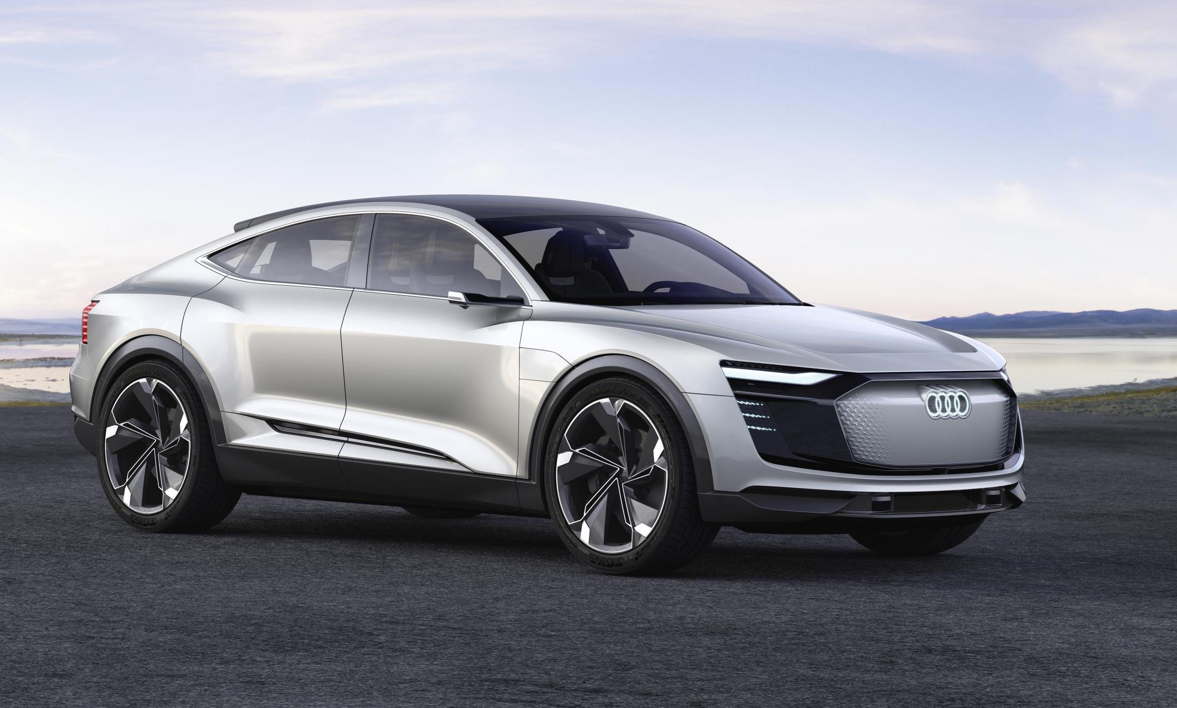 audi e tron sportback concept debuts at shanghai show. Black Bedroom Furniture Sets. Home Design Ideas