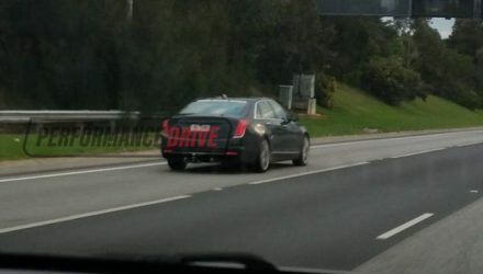 2017 Cadillac CT6 spotted testing in Australia