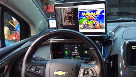 Hackers convert Chevrolet Volt into Mario Kart controller (video)