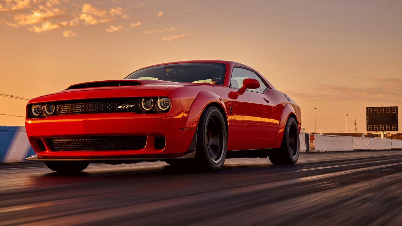 dodge challenger srt demon officially revealed video performancedrive. Black Bedroom Furniture Sets. Home Design Ideas