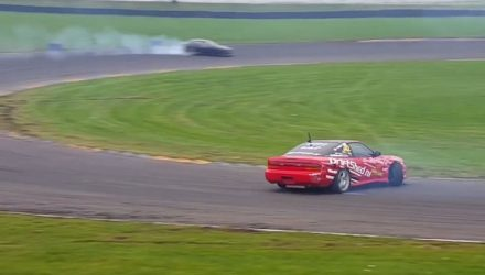 Video: Drifting craze now about reverse entry