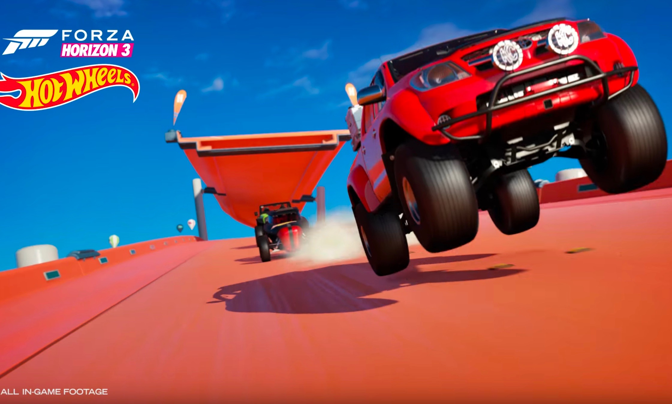 forza horizon 3 gets hots wheels expansion pack video. Black Bedroom Furniture Sets. Home Design Ideas