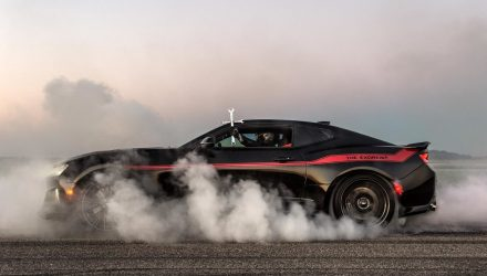 Hennessey plans 'Exorcist' Chevrolet Camaro with 1000hp