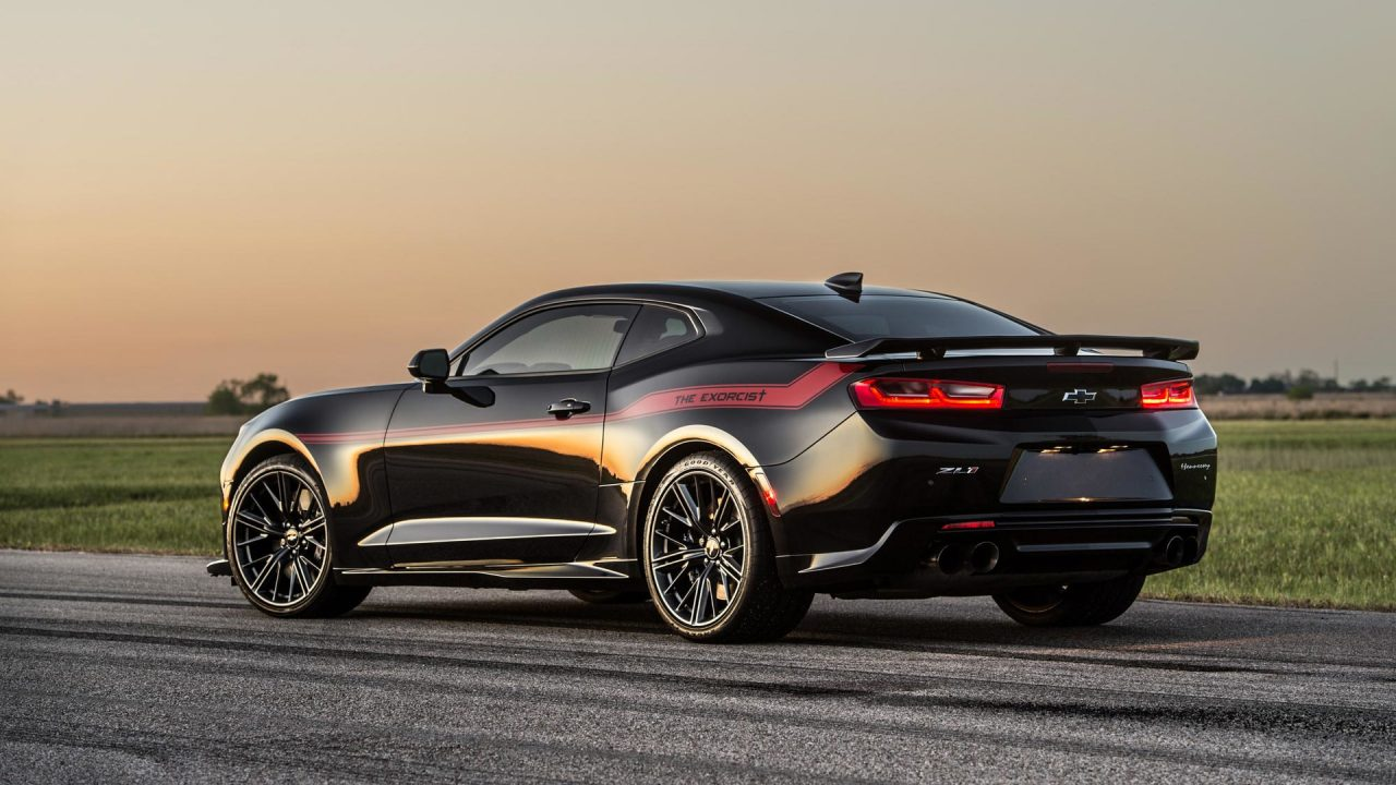 Hennessey Plans Exorcist Chevrolet Camaro With 1000hp