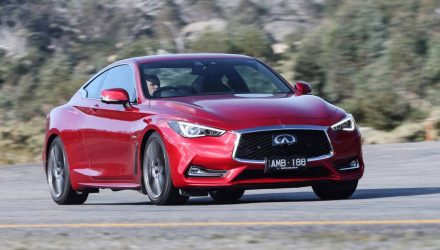 Twin-turbo Infiniti Q60 Red Sport now on sale in Australia
