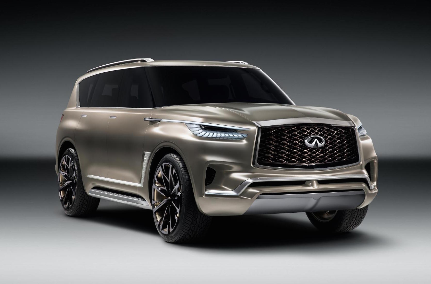 Infiniti reveals QX80 Monograph SUV concept at New York Motor Show
