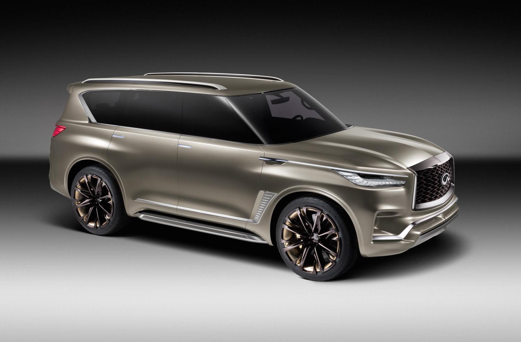 infiniti qx80 monograph concept officially revealed performancedrive. Black Bedroom Furniture Sets. Home Design Ideas