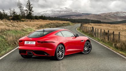 Jaguar F-Type 4-cylinder model revealed, 221kW turbo
