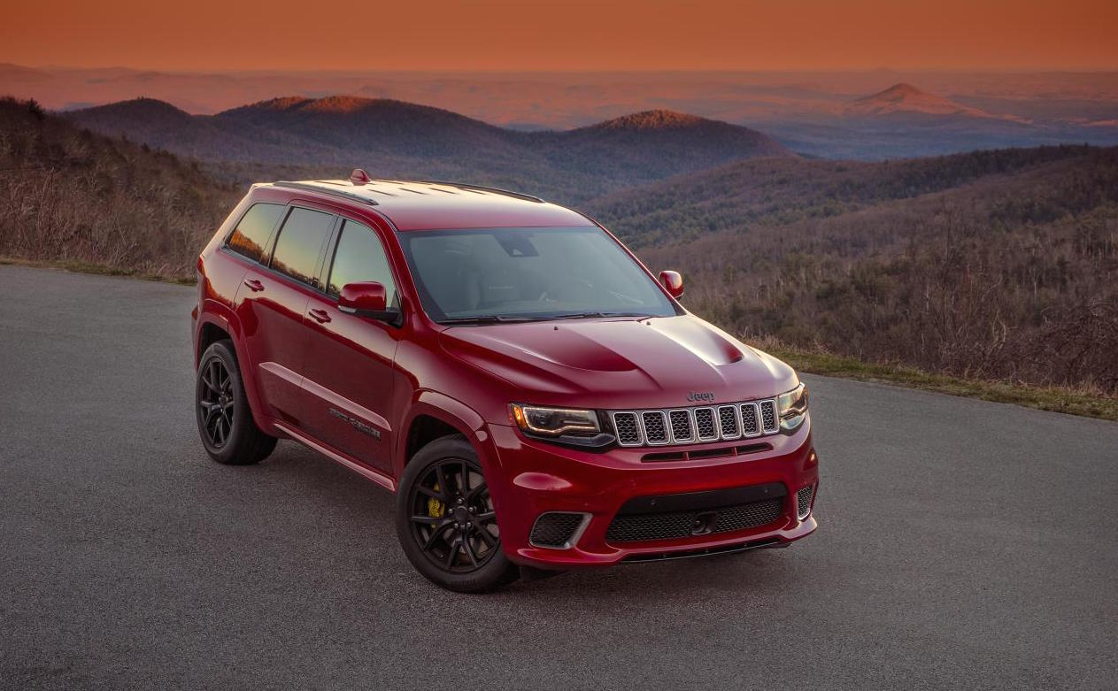 jeep grand cherokee trackhawk officially revealed performancedrive. Black Bedroom Furniture Sets. Home Design Ideas