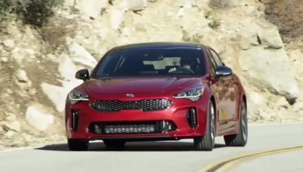 "More Kia Stinger details emerge, ""to drive as good as it looks"" (video)"