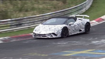 Lamborghini Huracan Performante Spyder confirmed? (Video)