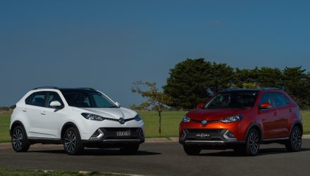 MG GS mid-size SUV now on sale in Australia