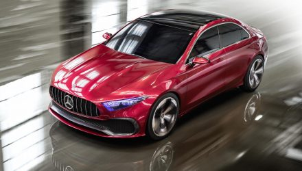 Mercedes-Benz Concept A Sedan unveiled