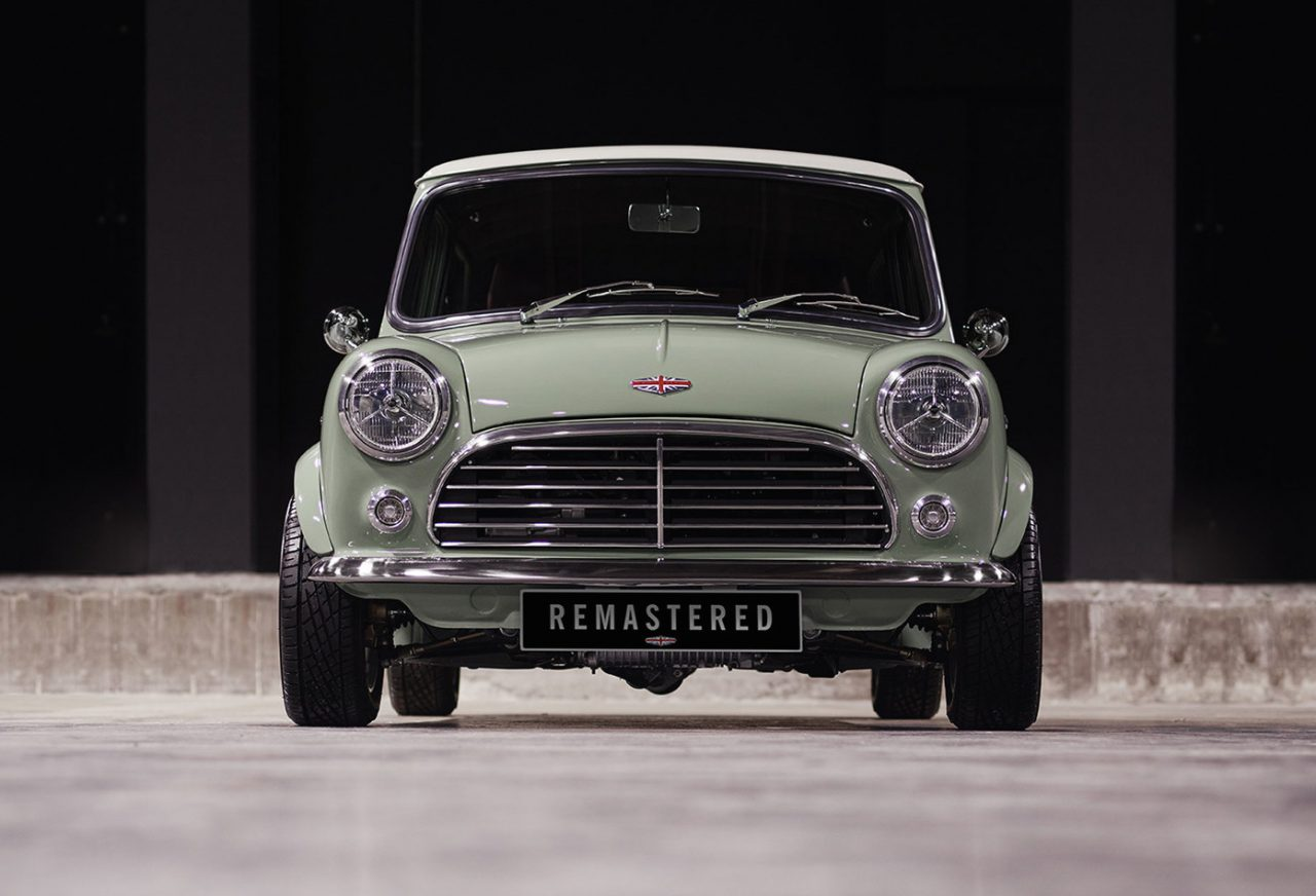 Mini Cooper Remastered By David Brown Automotive
