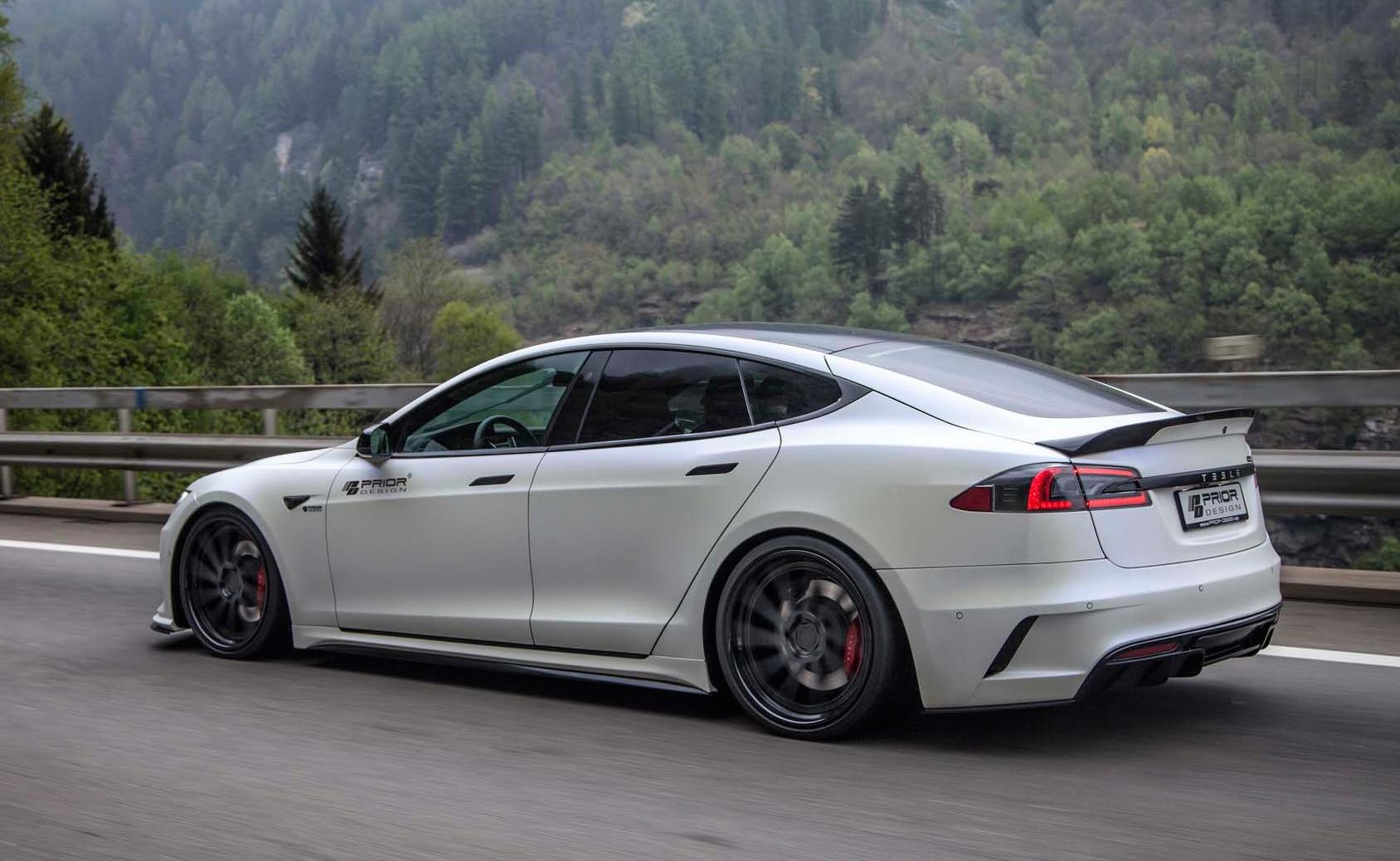 Prior Design Tesla Model S P100d Shows Ev Tuning Potential