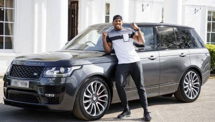 Boxing champ Anthony Joshua gets Range Rover SVAutobiography