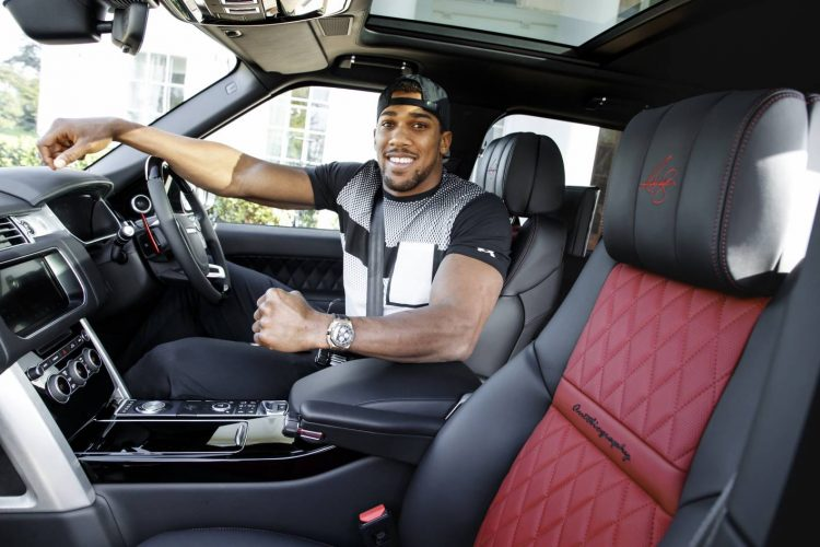 Image result for Anthony Joshua Gets Customized Range Rover
