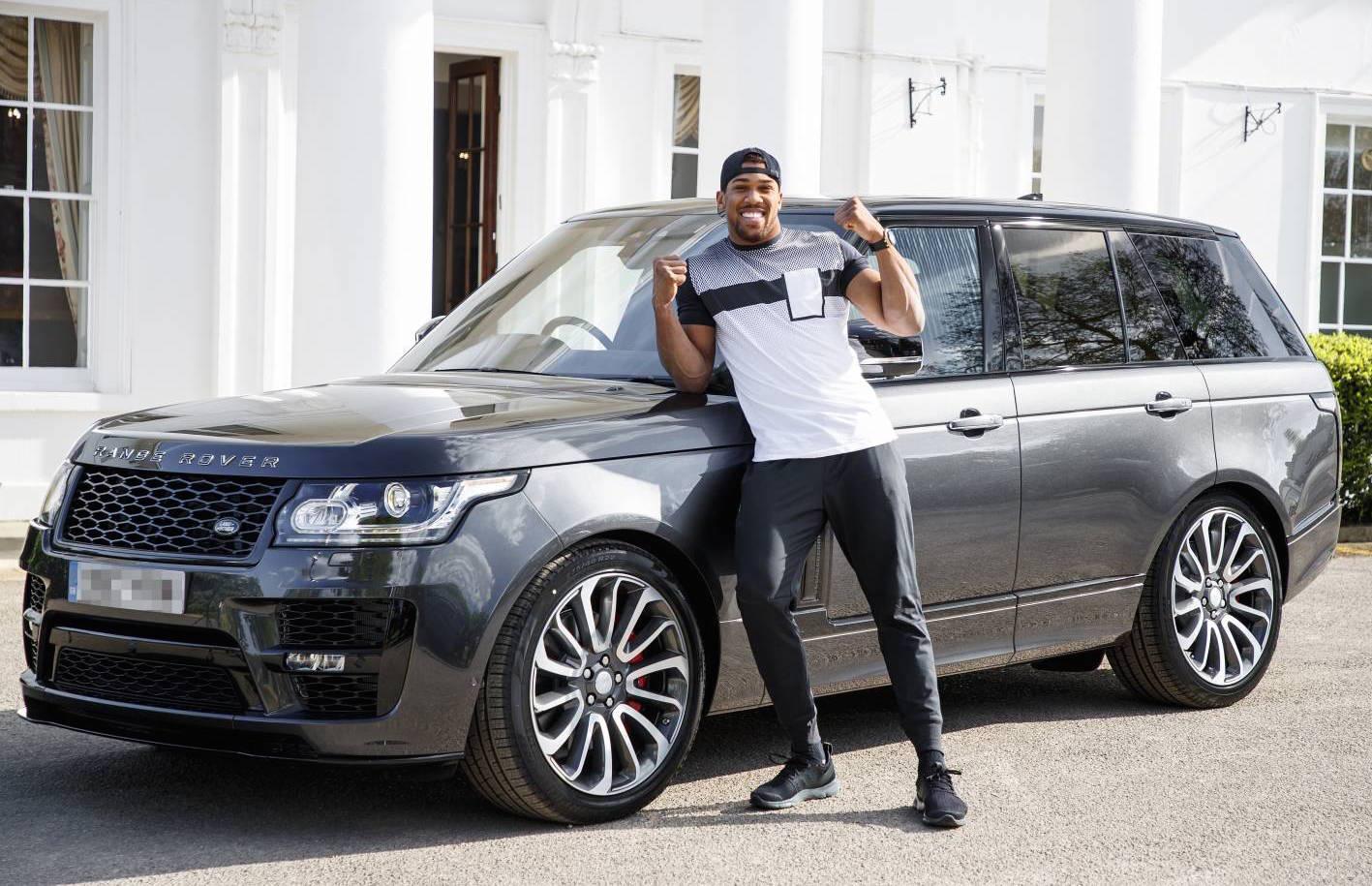 Boxing Champ Anthony Joshua Gets Range Rover