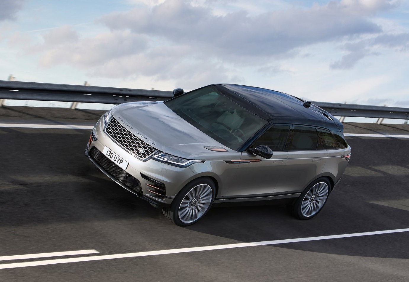 range rover velar v8 39 svr 39 confirmed via prototype. Black Bedroom Furniture Sets. Home Design Ideas